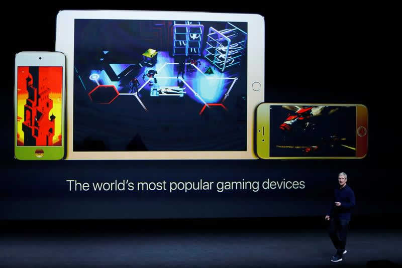Apple gaming devices