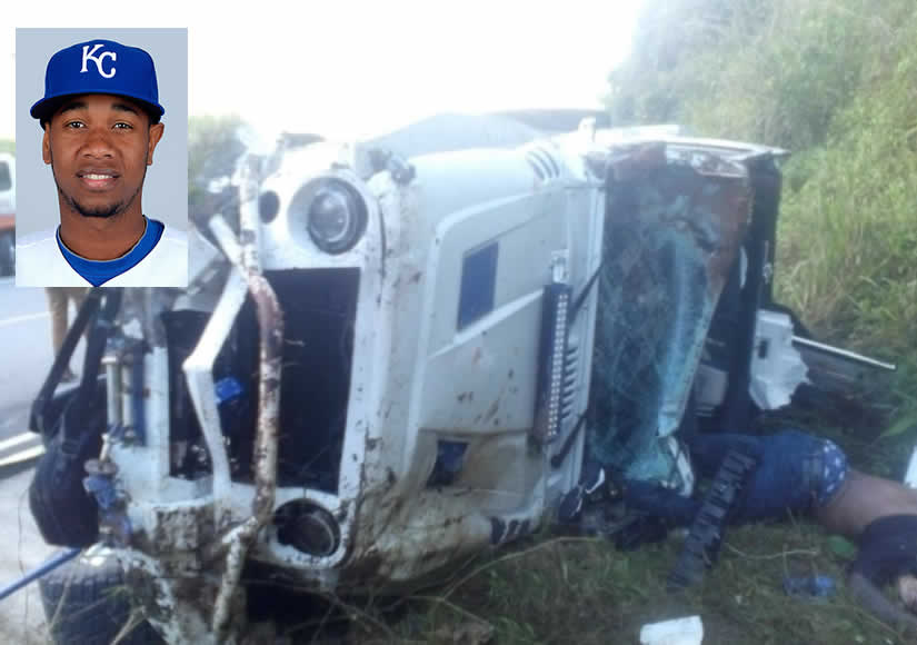 Accidente Yordano Ventura